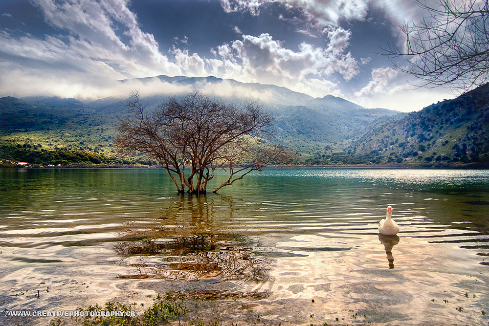 Lake Kourna, Crete