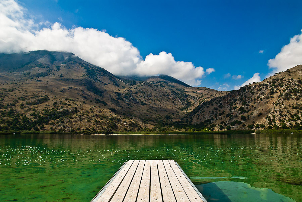 Kourna Lake, Crete
