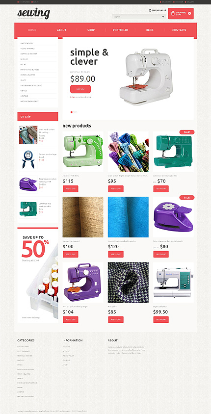 Crafts Responsive WooCommerce Theme