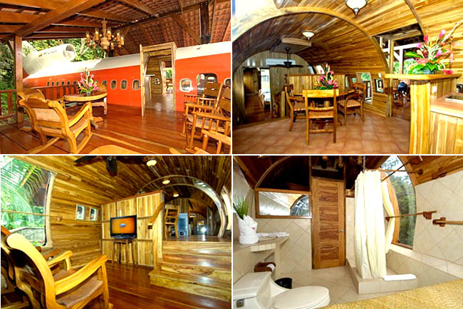 boeing 747 treehouse in costa rica3 12 Creative and Innovative Tree House Designs