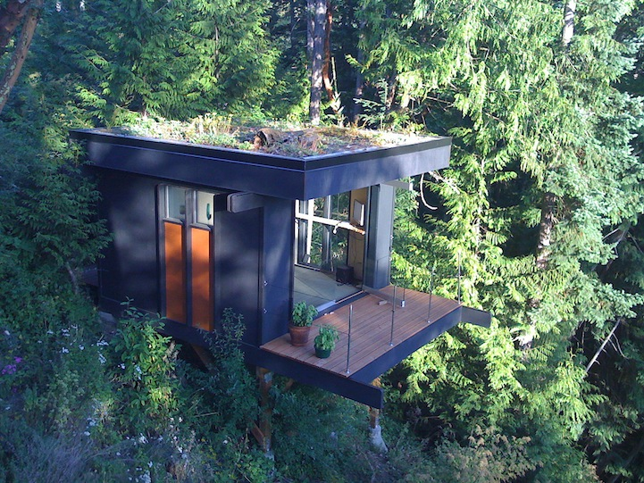 office treehouse 12 Creative and Innovative Tree House Designs