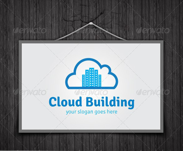 Cloud Building Logo