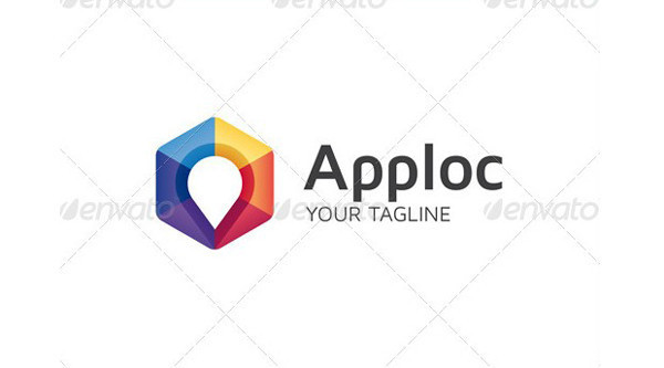 Apploc Logo Template