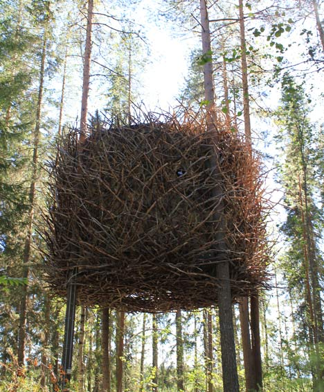 the birds nest by inrednin gsgruppen2 12 Creative and Innovative Tree House Designs