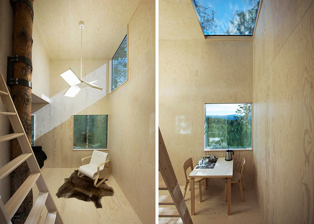the mirrorcube tree house in sweden3 12 Creative and Innovative Tree House Designs