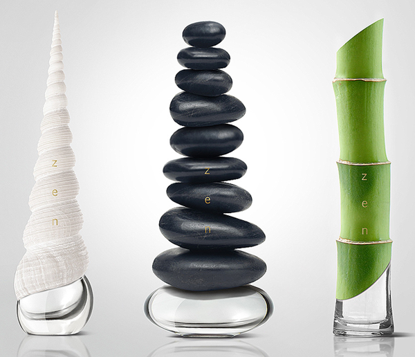 zen perfume 20+ Beautiful Minimal Packaging Designs