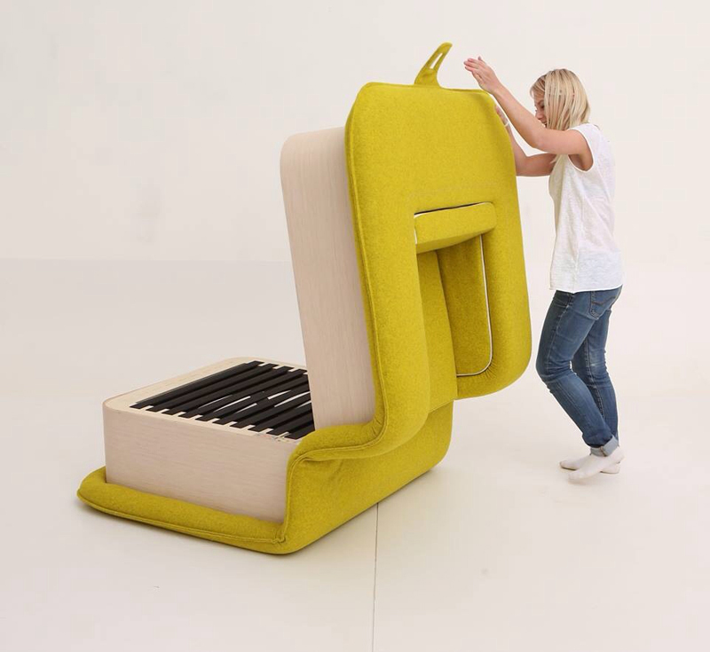 multifunctional arm chair flOP