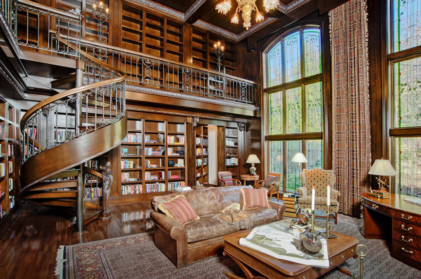 30 Classic Home Library Design Ideas 1 30 Classic Home Library Design Ideas Imposing Style