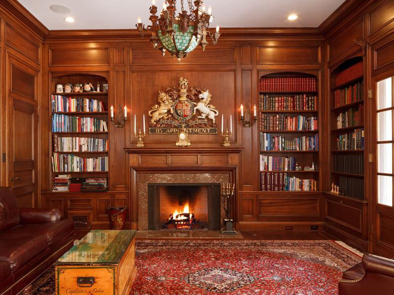 30 Classic Home Library Design Ideas 11 30 Classic Home Library Design Ideas Imposing Style
