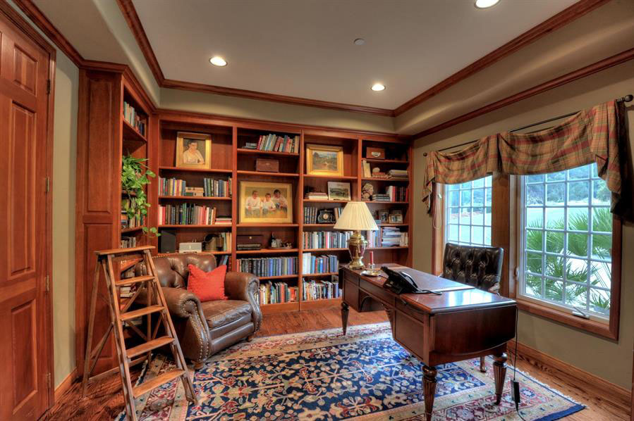 30 Classic Home Library Design Ideas 14 30 Classic Home Library Design Ideas Imposing Style