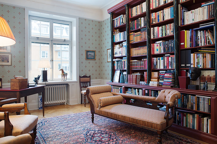 30 Classic Home Library Design Ideas 16 30 Classic Home Library Design Ideas Imposing Style