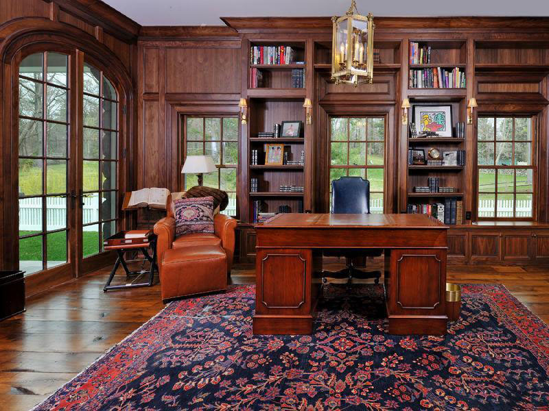 30 Classic Home Library Design Ideas 18 30 Classic Home Library Design Ideas Imposing Style