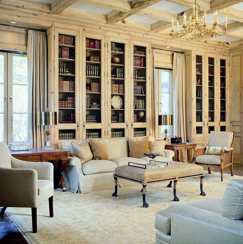 30 Classic Home Library Design Ideas 2 30 Classic Home Library Design Ideas Imposing Style