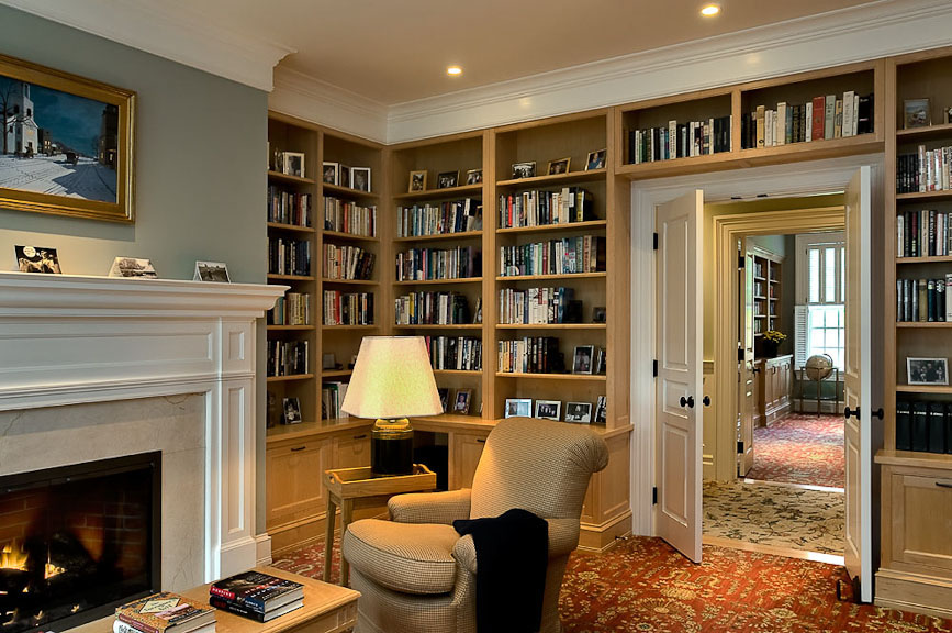 30 Classic Home Library Design Ideas 21 30 Classic Home Library Design Ideas Imposing Style