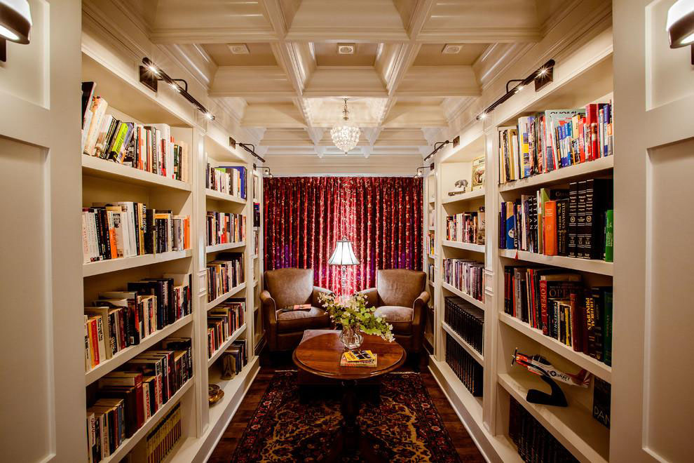 30 Classic Home Library Design Ideas 24 30 Classic Home Library Design Ideas Imposing Style