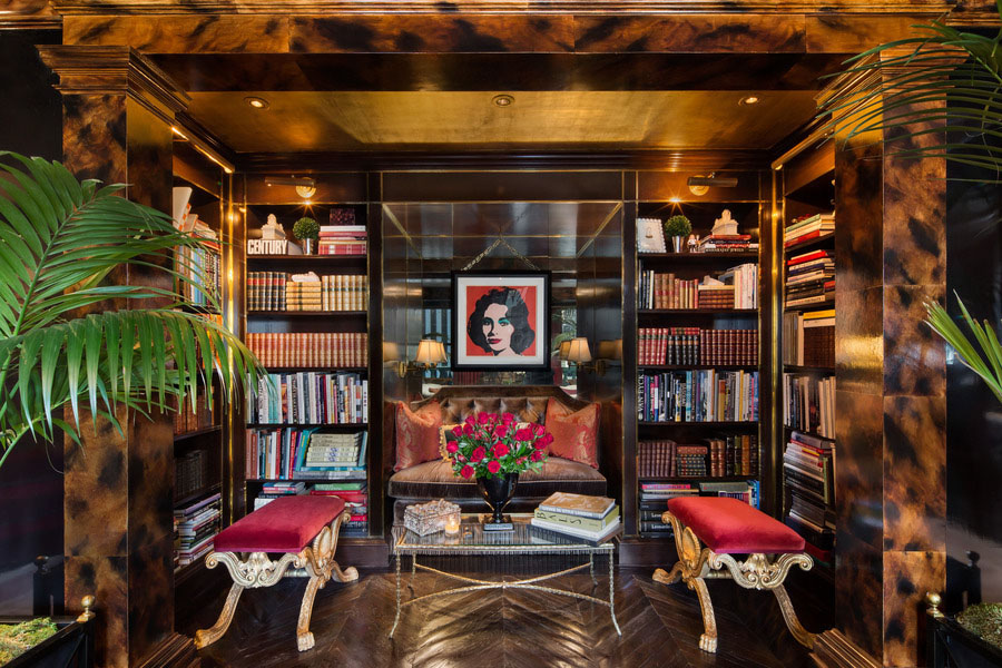 30 Classic Home Library Design Ideas 28 30 Classic Home Library Design Ideas Imposing Style