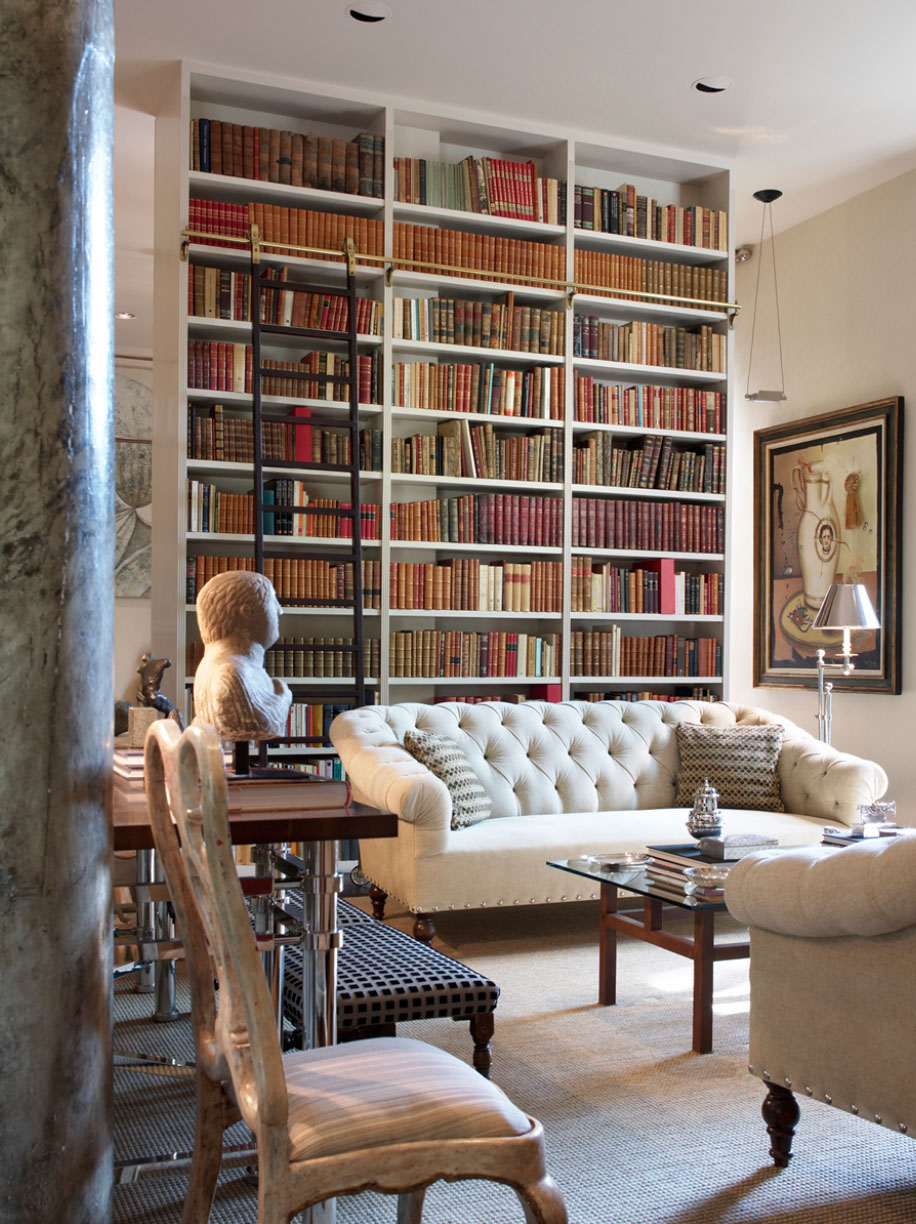 30 Classic Home Library Design Ideas 3 30 Classic Home Library Design Ideas Imposing Style