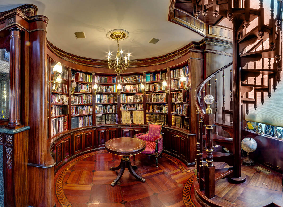 30 Classic Home Library Design Ideas 4 30 Classic Home Library Design Ideas Imposing Style