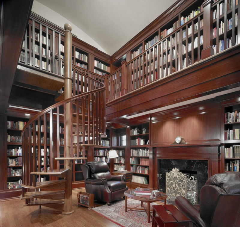 30 Classic Home Library Design Ideas 5 30 Classic Home Library Design Ideas Imposing Style