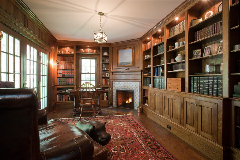 30 Classic Home Library Design Ideas 7 30 Classic Home Library Design Ideas Imposing Style