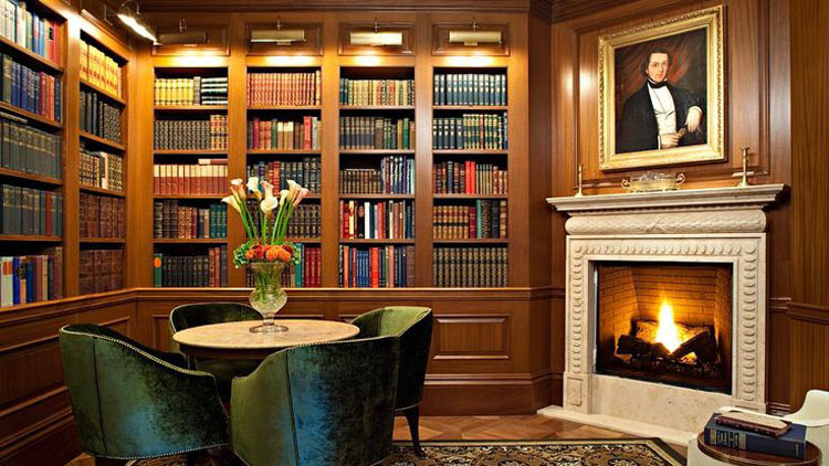 30 Classic Home Library Design Ideas 8 30 Classic Home Library Design Ideas Imposing Style