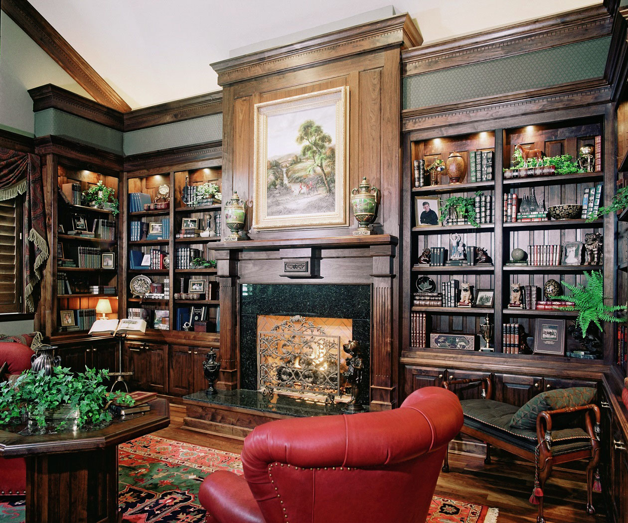 30 Classic Home Library Design Ideas 9 30 Classic Home Library Design Ideas Imposing Style
