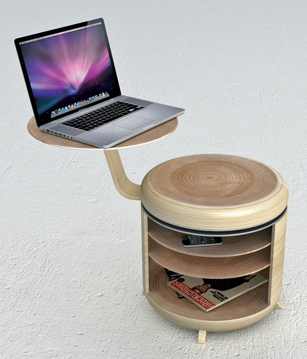 Tandem Table and Stool
