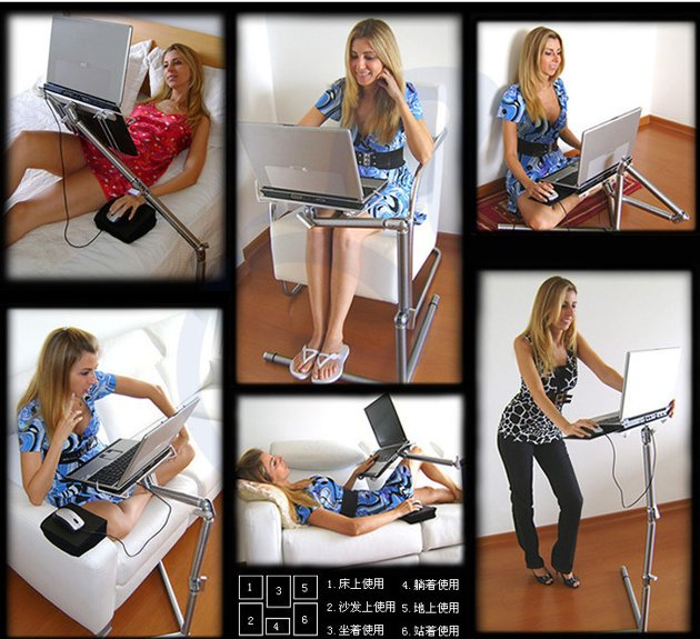 FEDEX Multifunctional Foldable Laptop Table