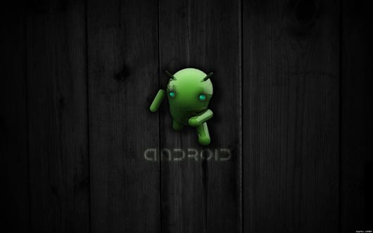EgFox BugDroid Wood 2010 HD Best HD Wallpapers Will Enhance Look of Desktop