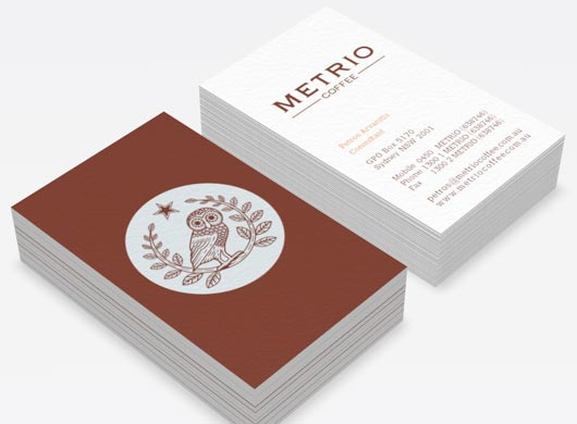 Metrio Coffee Visual Identity Get Lots of Inspirations of Professional Business Cards
