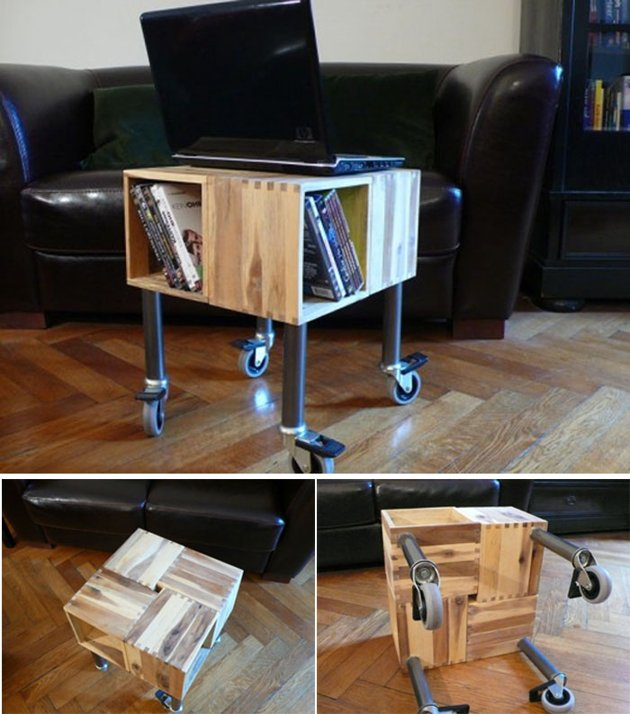 Portable Wood Table