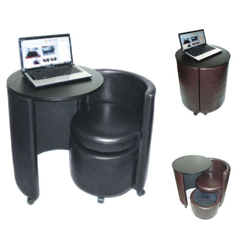 Round Folding Laptop Table