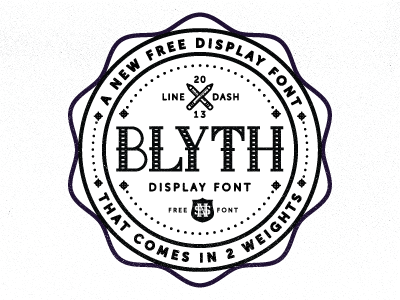 blyth font for free by nick slater 50 Free Fonts Youll be Tempted to Download