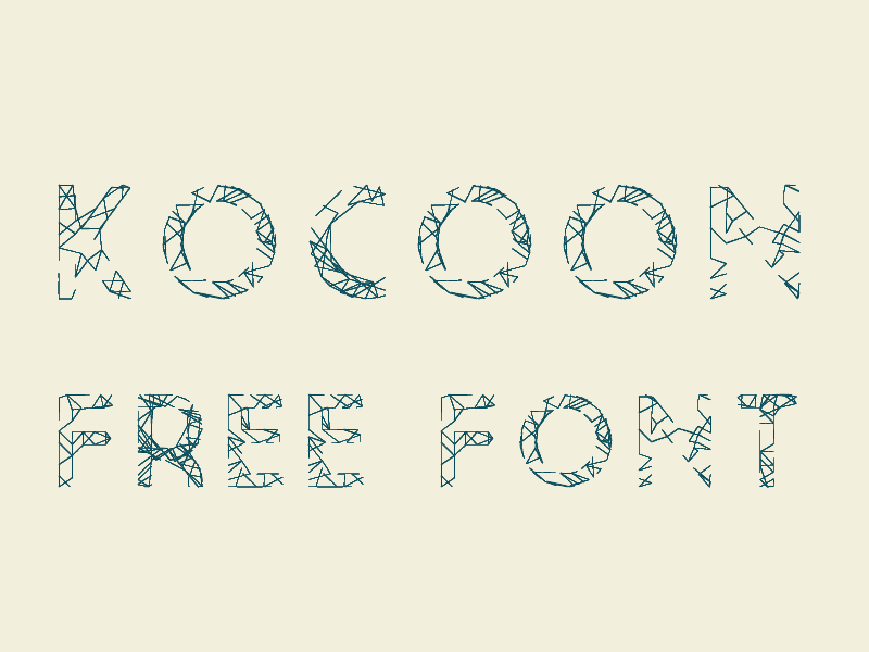 kocoon light free font by give 50 Free Fonts Youll be Tempted to Download