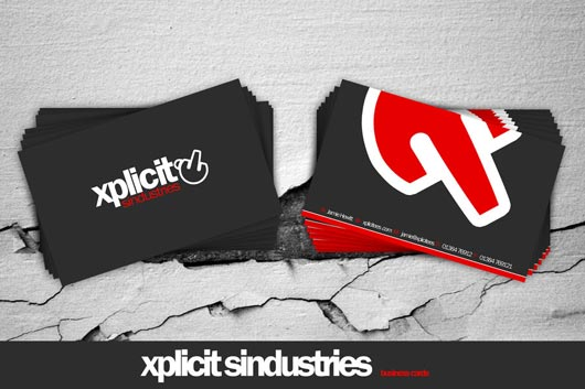 xplicit business cards Get Lots of Inspirations of Professional Business Cards
