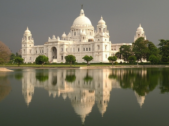 The Corner view Of victoria Memorial