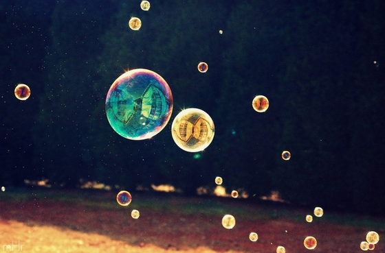bubble reflection