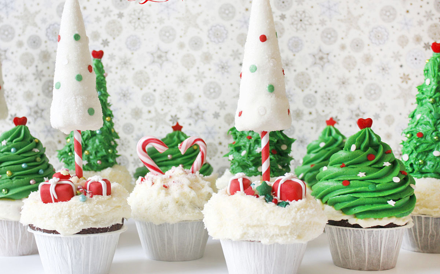 christmas cupcake decorating ideas