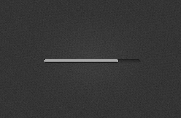 grey freebie psd loading bar