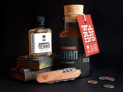 Weather'd Texan Packaging by Tymn Armstrong