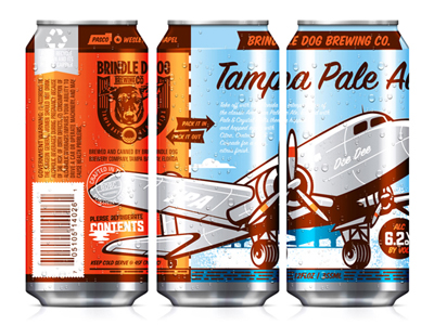 Tampa Pale Ale Can by Kendrick Kidd