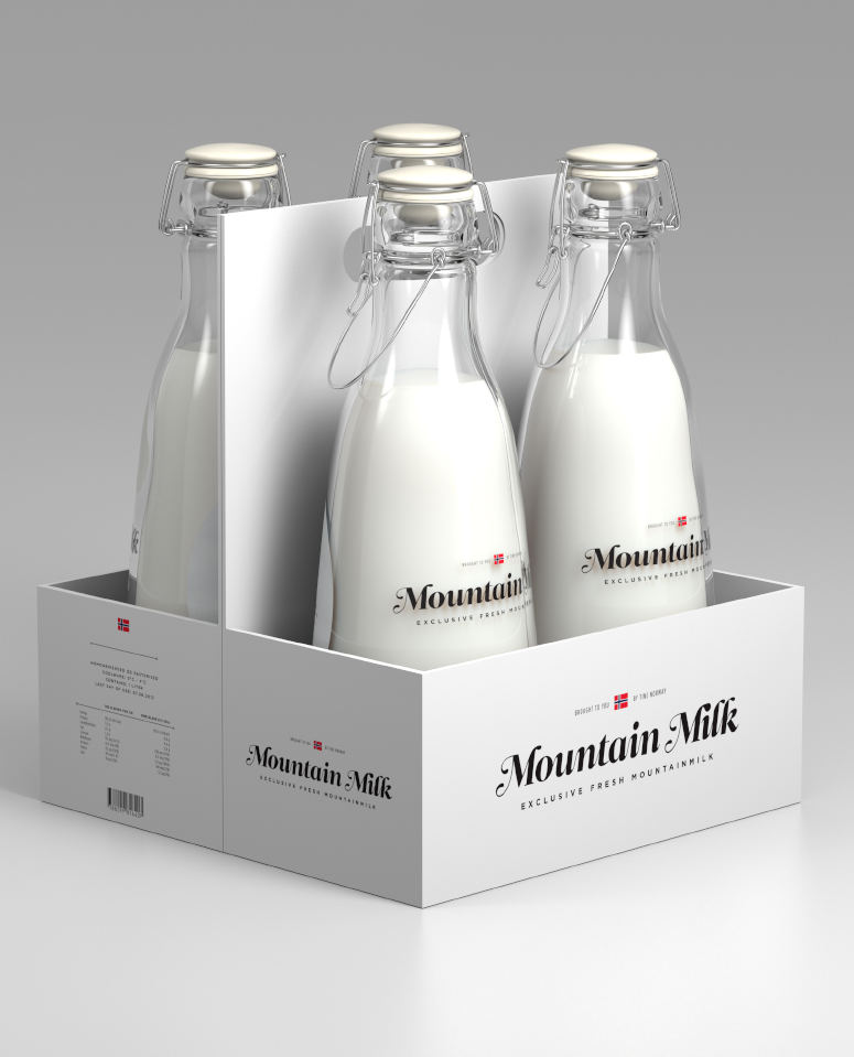 Tine – Mountain Milk by Anders Drage