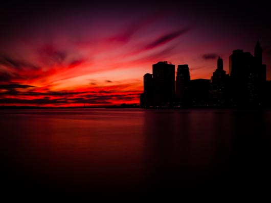 Manhattan Sunset Wallpaper Best HD Wallpapers on DesignDazzling Platform