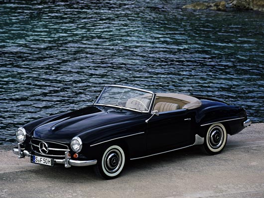 Mercedes 190SL R121 Wallpaper Best HD Wallpapers on DesignDazzling Platform