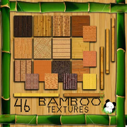 Present A Example of creativity Using Bamboo Textures  018 Examples of Creativity Using Bamboo Textures