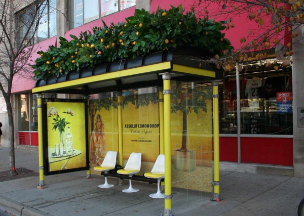 absolute lemon drop 20+ Examples of Clever Bus Stop Advertising