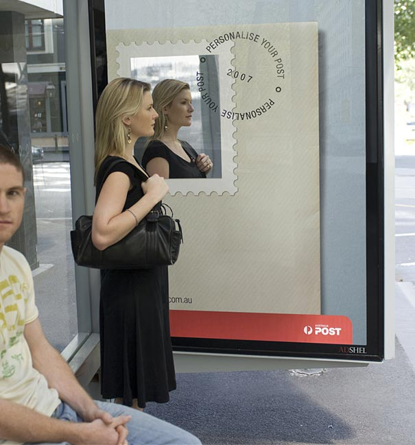 australia post personalize your post 20+ Examples of Clever Bus Stop Advertising