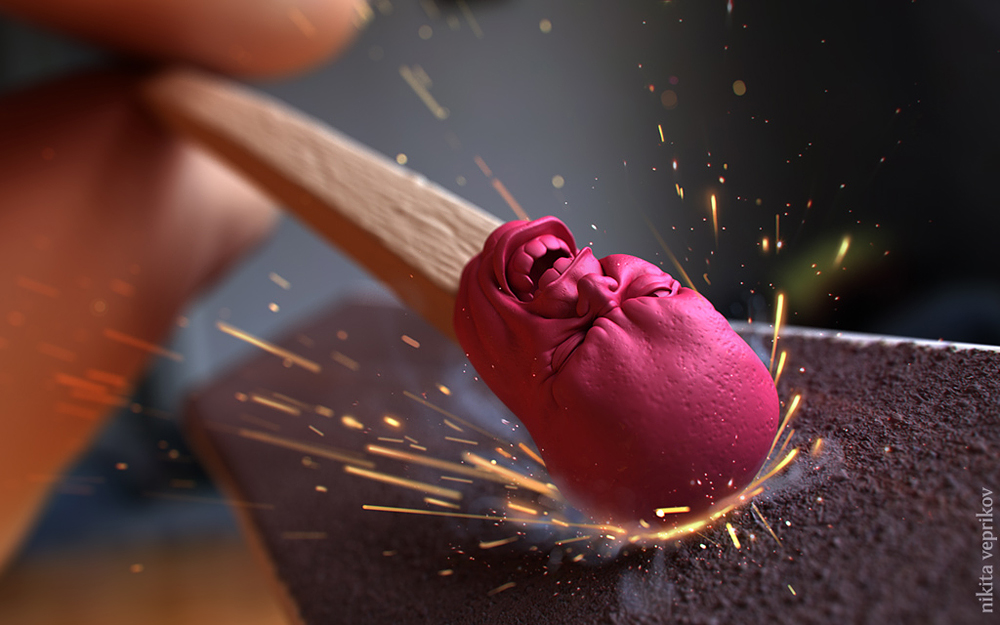 Stunning 3D Illustrations by Nikita Veprikov