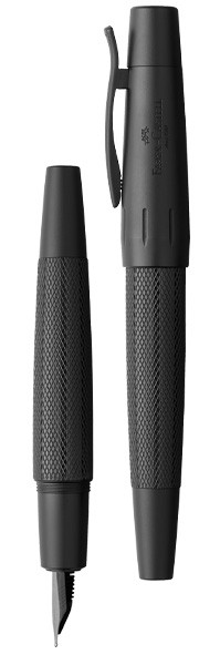 Faber-Castell Pure Black e-motion Fountain Pen