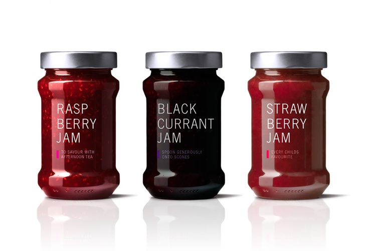 Jam packaging by London Studio